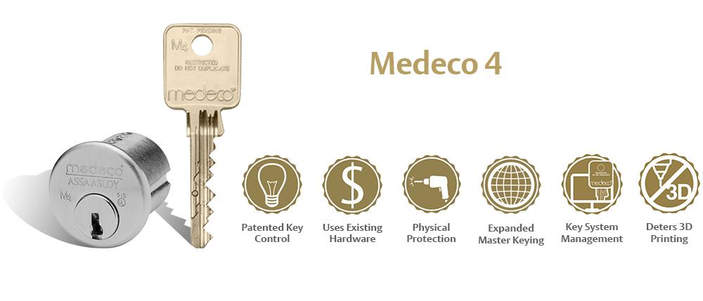 Medeco 4 key system